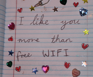 love, wifi, and quotes image