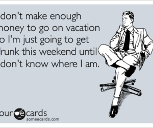 drunk, funny, and vacation image