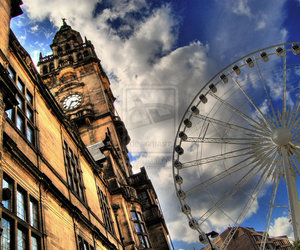 city, uk, and london image