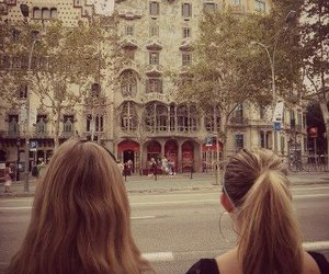 apartment, Barcelona, and blonde image
