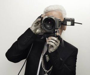 fashion, chanel, and karl lagerfeld image