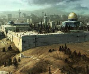 home, palestine, and aqsa image