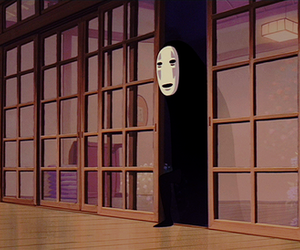 no face, anime, and spirited away image