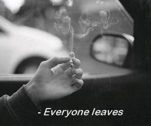 smoke, sad, and quotes image