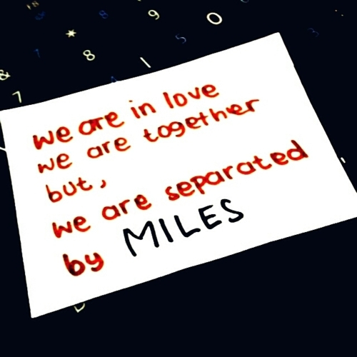 Distance Ldr Love Miles Quote Inspiring Picture On Favim Com