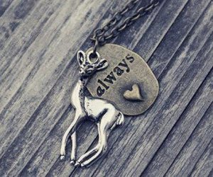 harry potter, always, and necklace image