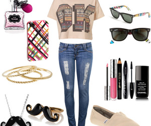 mustache, Polyvore, and fashion image