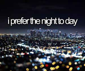 night and and thats who i am image