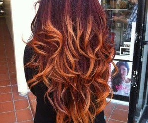 awesome, curls, and hair image