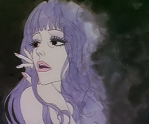 belladonna of sadness and purple hair image