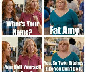 j, pitch perfect, and funny image