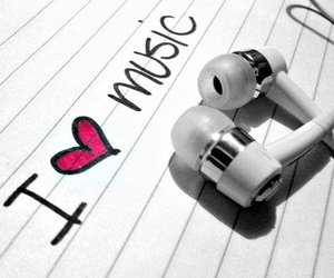 music and heart image