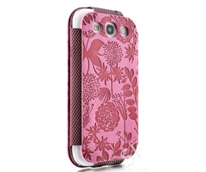 flower, lovely, and galaxy s3 leather case image
