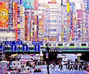japan and city image