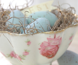 eggs, blue, and easter image