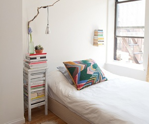 books, bedroom, and room image