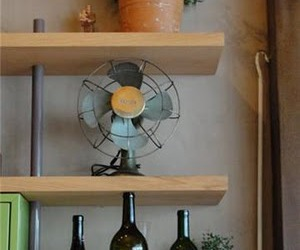 decor, plant, and fan image