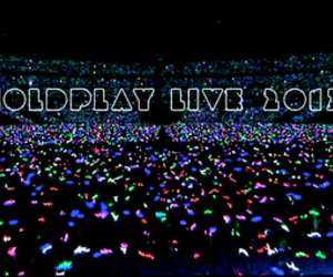 band, coldplay, and consert image