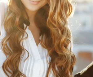 hair, girl, and curls image
