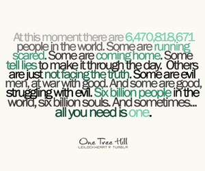 quote, one tree hill, and text image