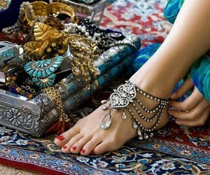 accessories, feet, and jewelry image