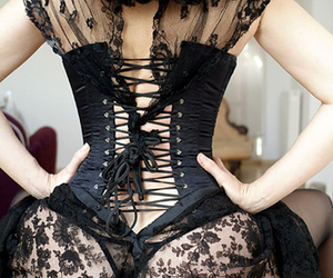 ass, sexy, and corset image