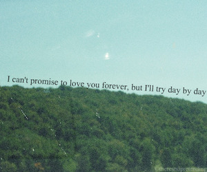 love, quote, and trees image