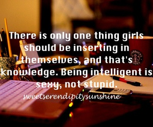 girl, intelligence, and knowledge image
