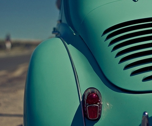 car, beetle, and blue image
