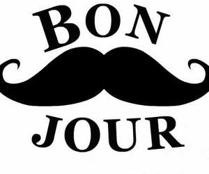 mustache, france, and french image