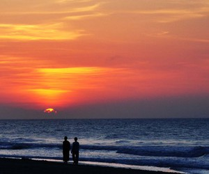 myrtle beach and sun rise image