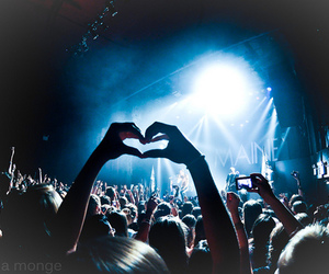 heart, the maine, and concert image