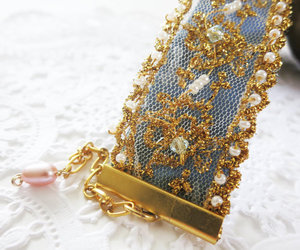 bracelet, cuff, and embroidery image