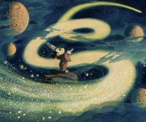 magic, disney, and fantasia image