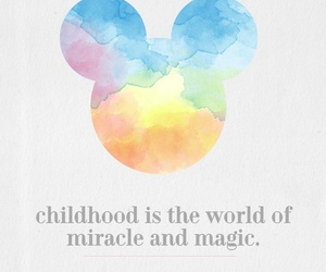 disney, childhood, and magic image