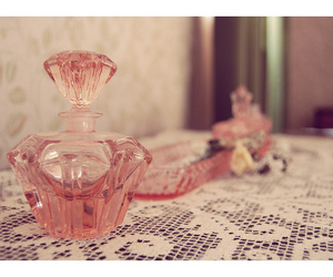 perfume, pink, and romantic image