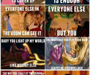 disney, one direction, and princess image