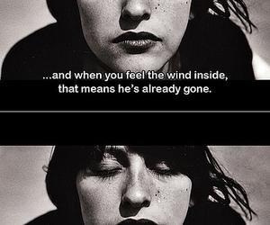 black and white, movie, and sad image