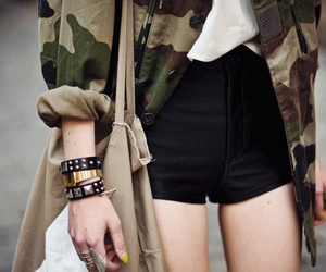 fashion, style, and army image
