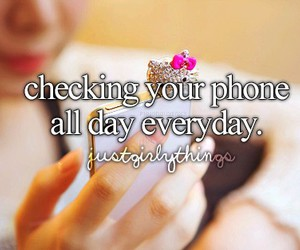phone and just girly things image