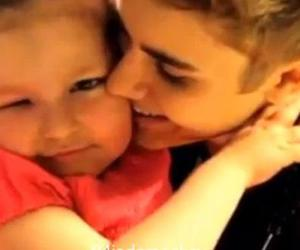 justin bieber and avalanna routh image