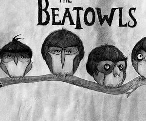 desenho, the beatles, and musica image