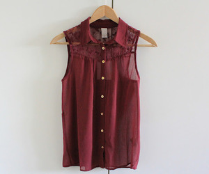fashion, red, and shirt image