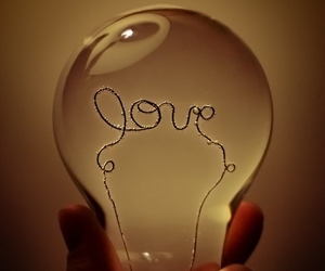 love, light, and lamp image