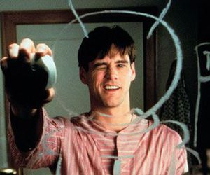 jim carrey, mirror, and the truman show image