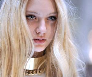 blonde, model, and nastya kusakina image