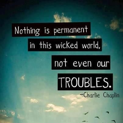 quotes, trouble, and charlie chaplin image