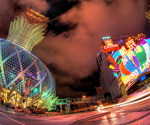 photography, casino, and city image