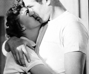james dean, couple, and black and white image