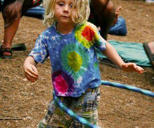 child and hippie image